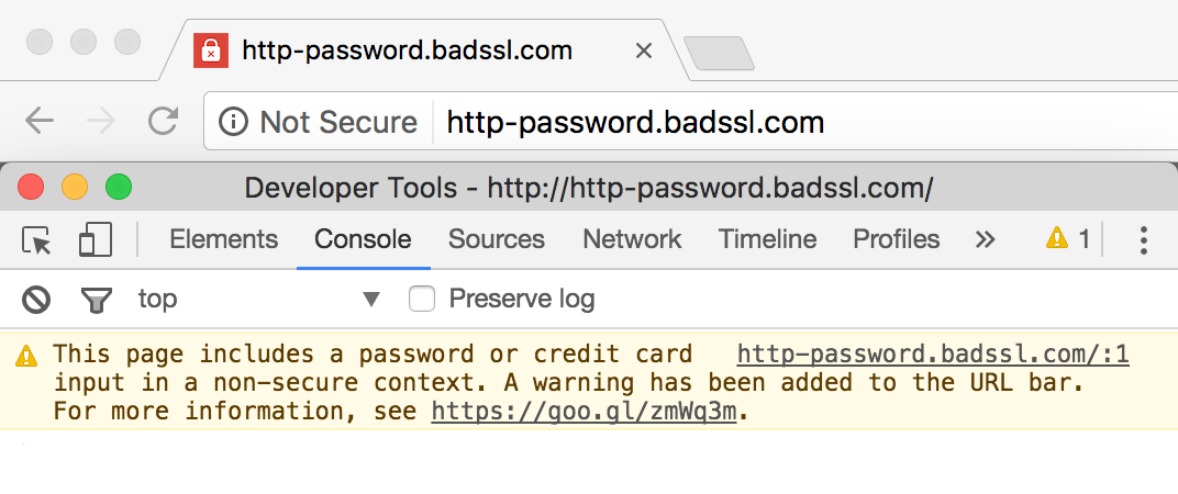 Avoiding the Not Secure Warning in Chrome | Web | Google Developers