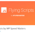 Flying scripts plugin screenshot