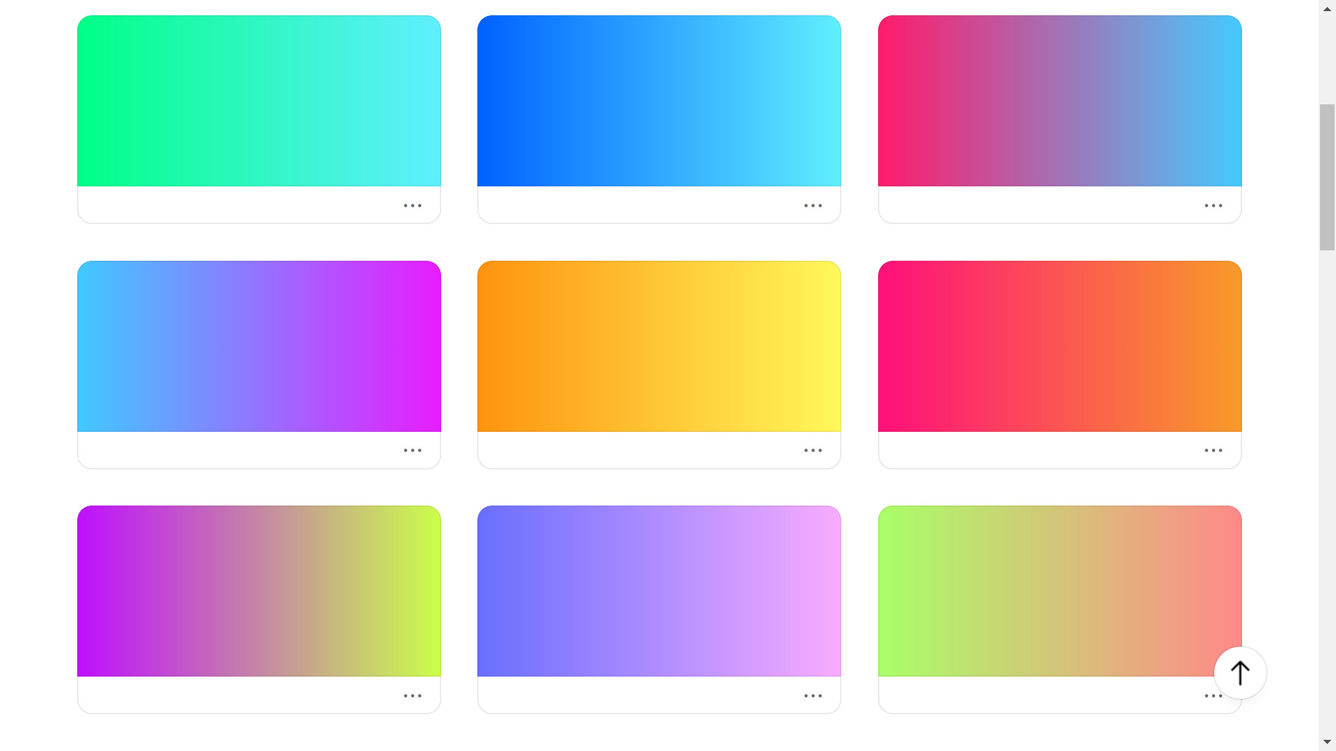 Coolors gradient user share