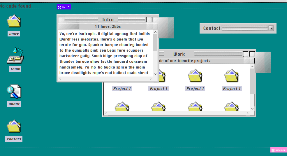 graphical user interface, application
