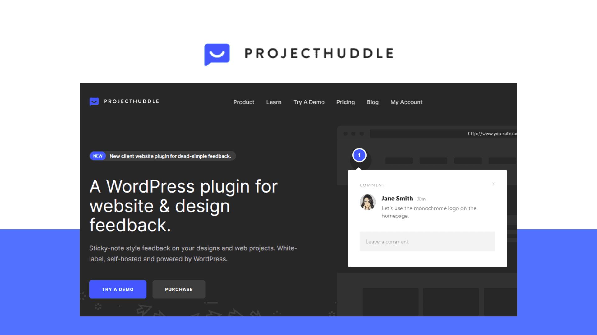 Projecthuddle Lifetime Deal   WordPress Plugin For Website & Design Feedback