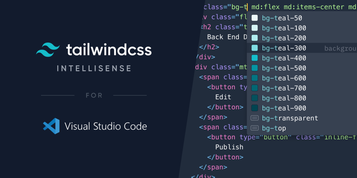Tailwind CSS IntelliSense - Visual Studio Marketplace